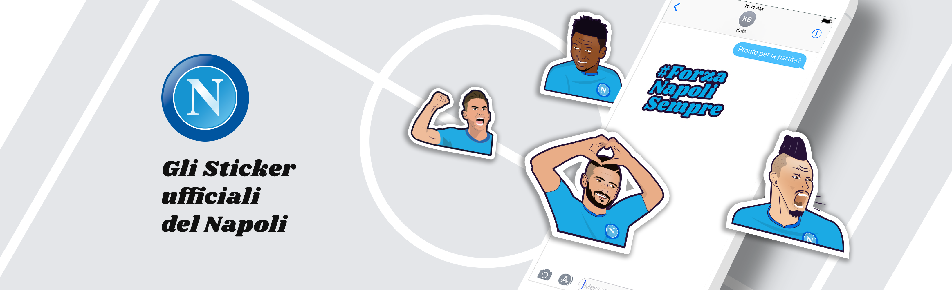 Napoli Stickers